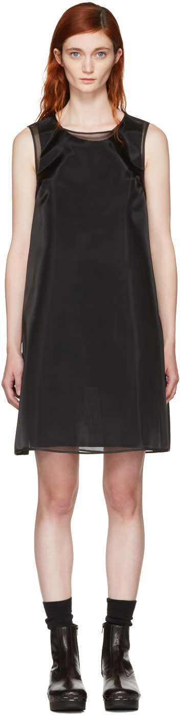 Mm6 Maison Margiela Black Crinoline Dress