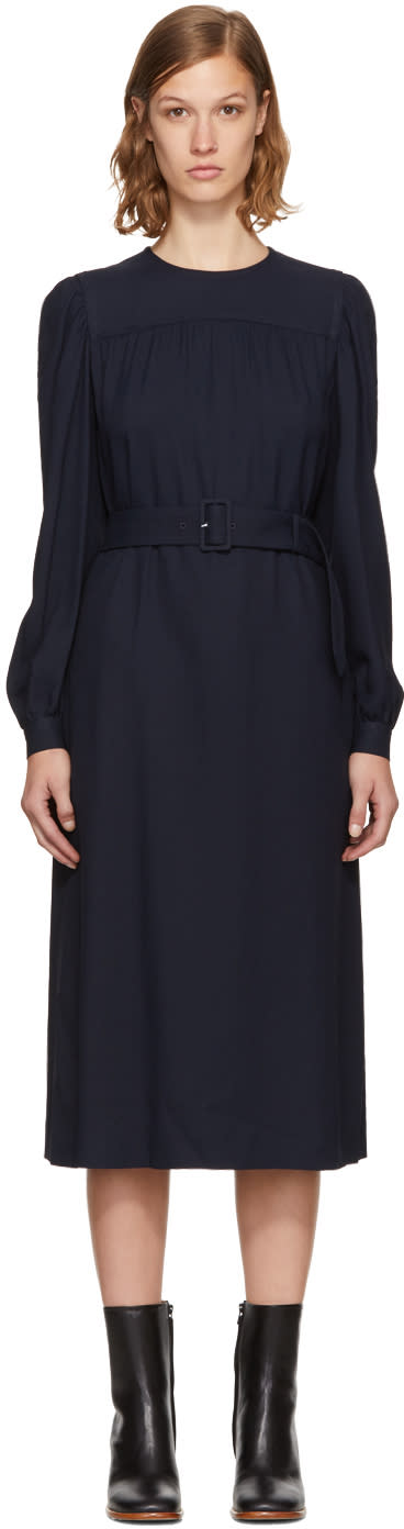 A.p.c. Black Marguerite Dress