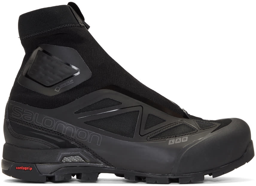 Salomon Black Limited Edition S lab X alp Sneakers