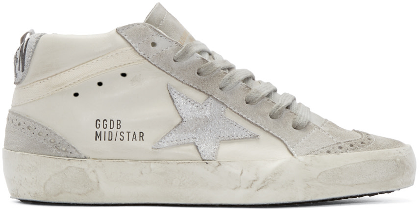 Golden Goose Mid Star Glitter