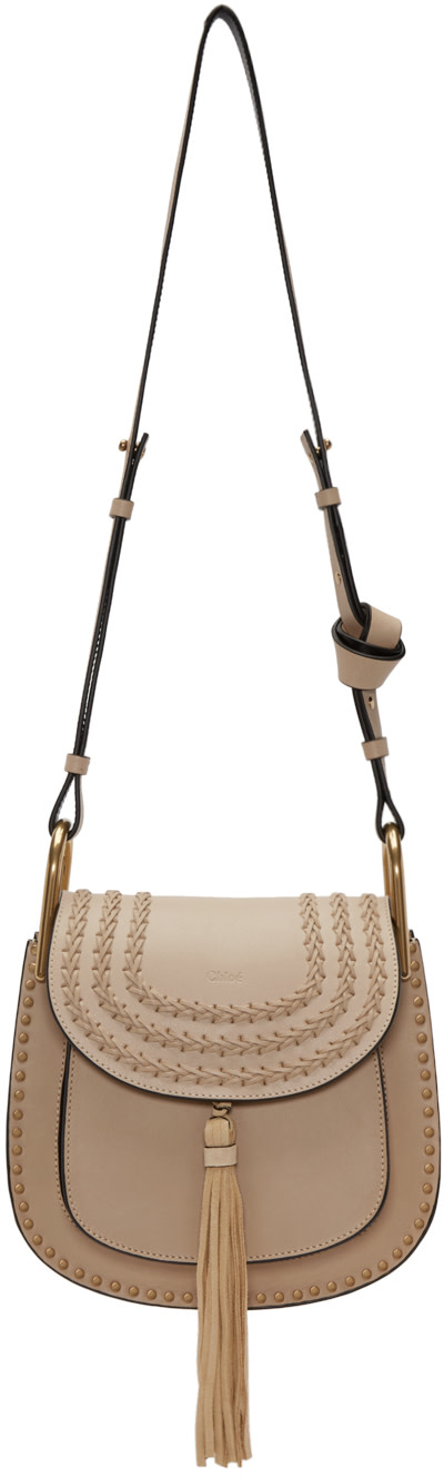 CHLO¨¦ Hudson Small Leather Cross-Body Bag
