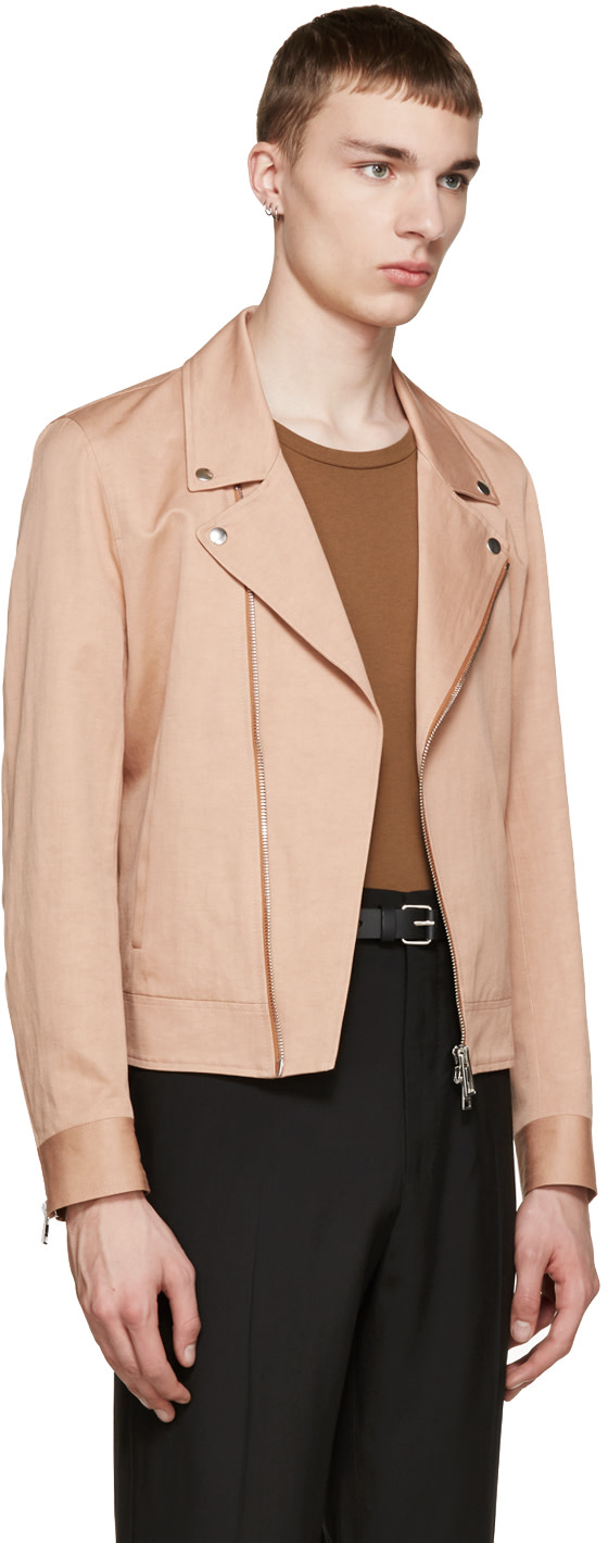 PS by Paul Smith - Pink Moto Jacket