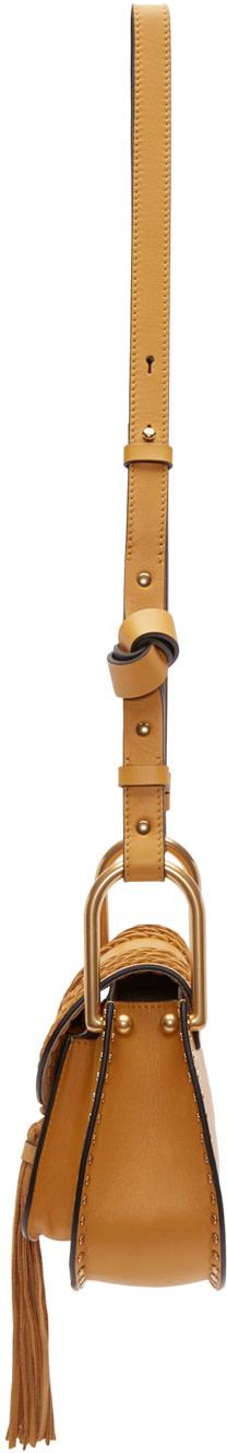 chloe elsie python bag - Chlo��: Yellow Mini Hudson Bag | SSENSE