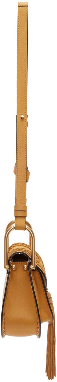 chloe knockoff bags - Chlo��: Yellow Mini Hudson Bag | SSENSE