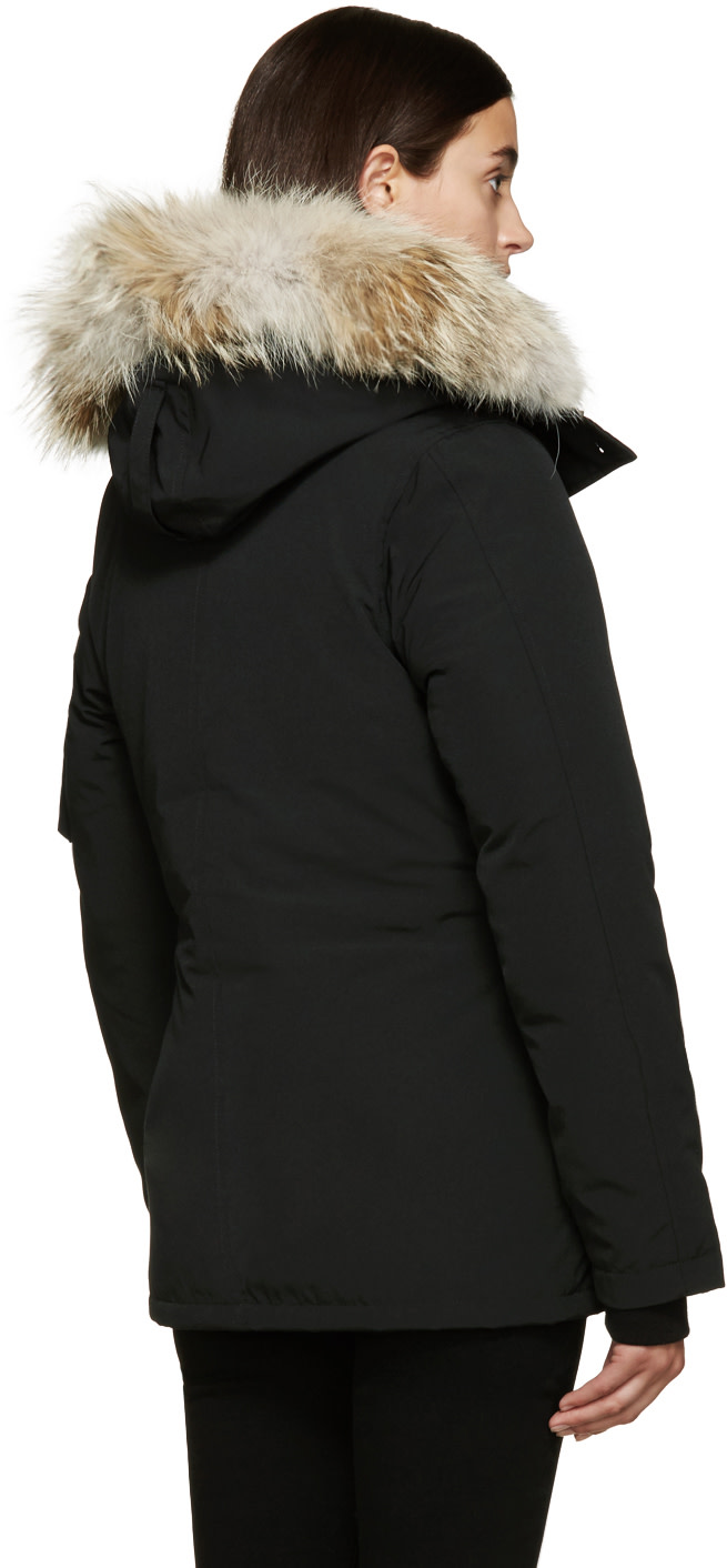 canada goose fur-trimmed down-filled montebello parka