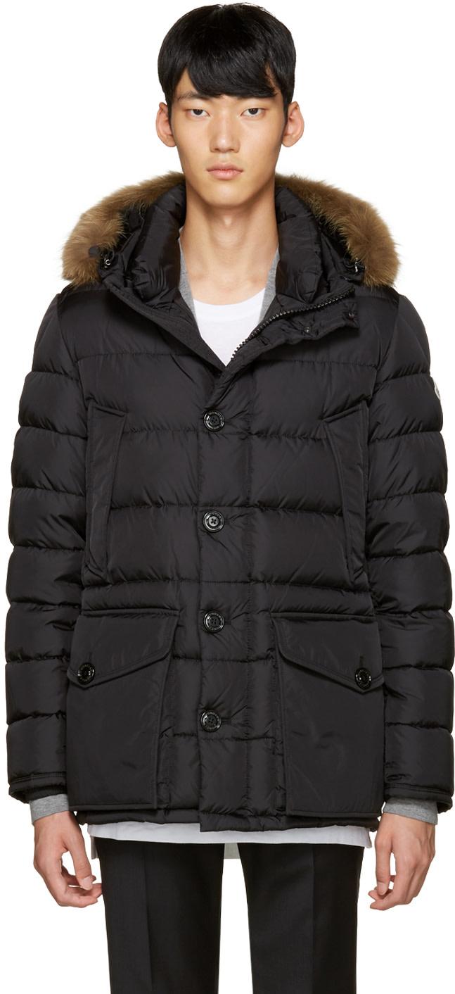 moncler cluny jacket black