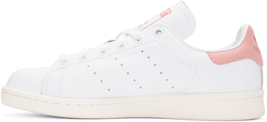 Adidas Originals Pink And White