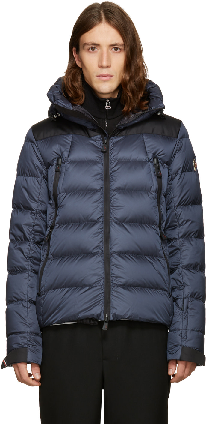 MONCLER GRENOBLE NAVY DOWN CAMURAC JACKET
