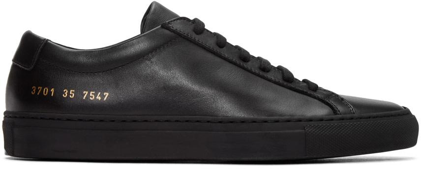 Dark Blue Original Achilles Suede Sneakers, Navy