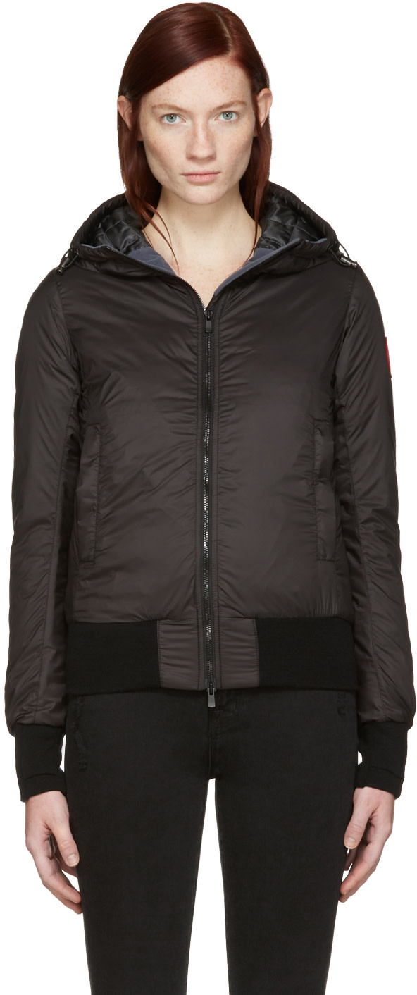 DORE HOODED DOWN BOMBER JACKET