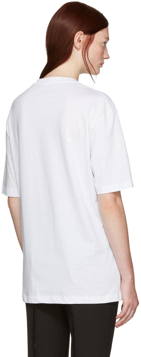 Raf simons white robert mapplethorpe edition 39 david byrne for Raf simons robert mapplethorpe shirt