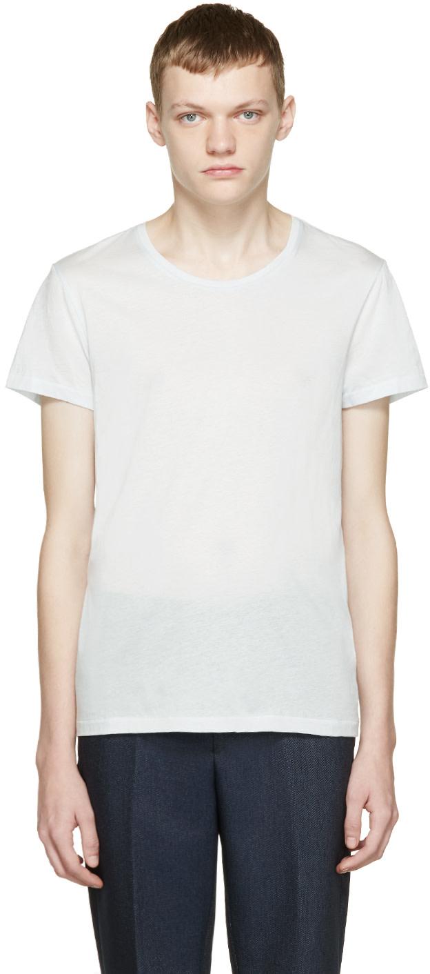 Acne Studios Blue Standard O T Shirt Ssense