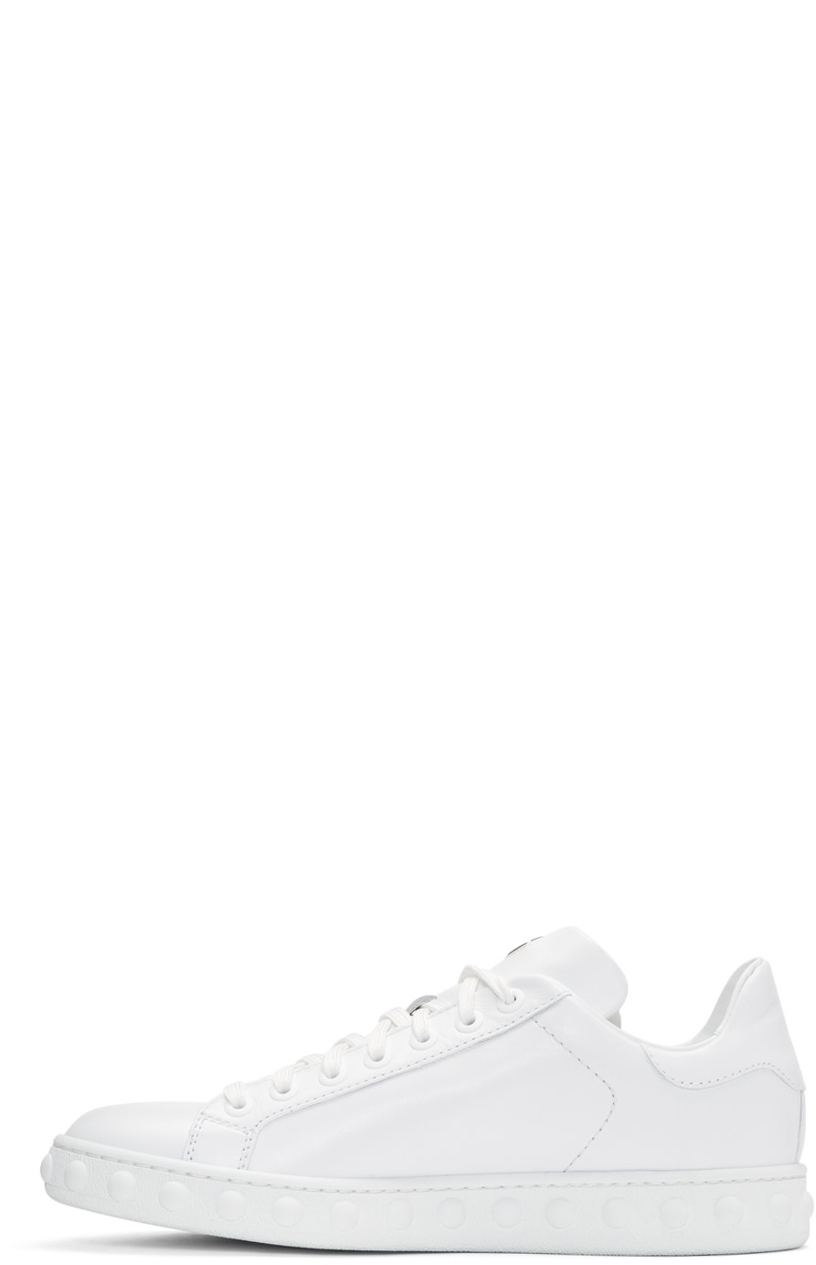 MONCLER Fifi Low-Top Leather Trainers