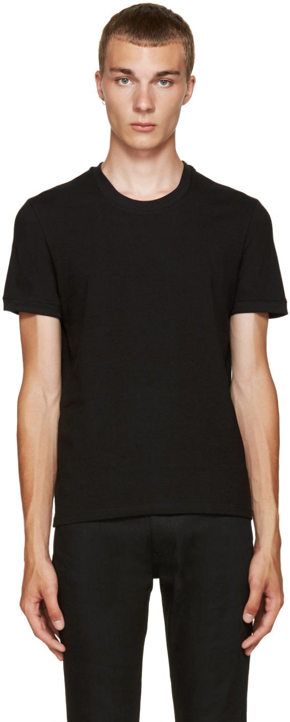 Dolce gabbana black pure t shirt ssense for Dolce gabbana t shirt women