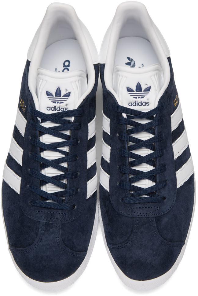 ADIDAS ORIGINALS Black Og Vintage Gazelle Sneakers