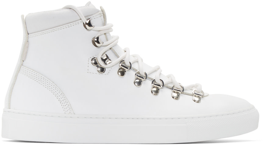 Diemme - White Marostica Mid-Top Sneakers
