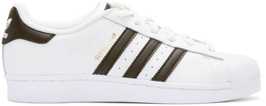 adidas Originals - White Superstar Sneakers