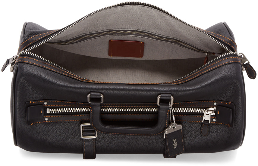 COACH 1941 Black Flag Gym Bag