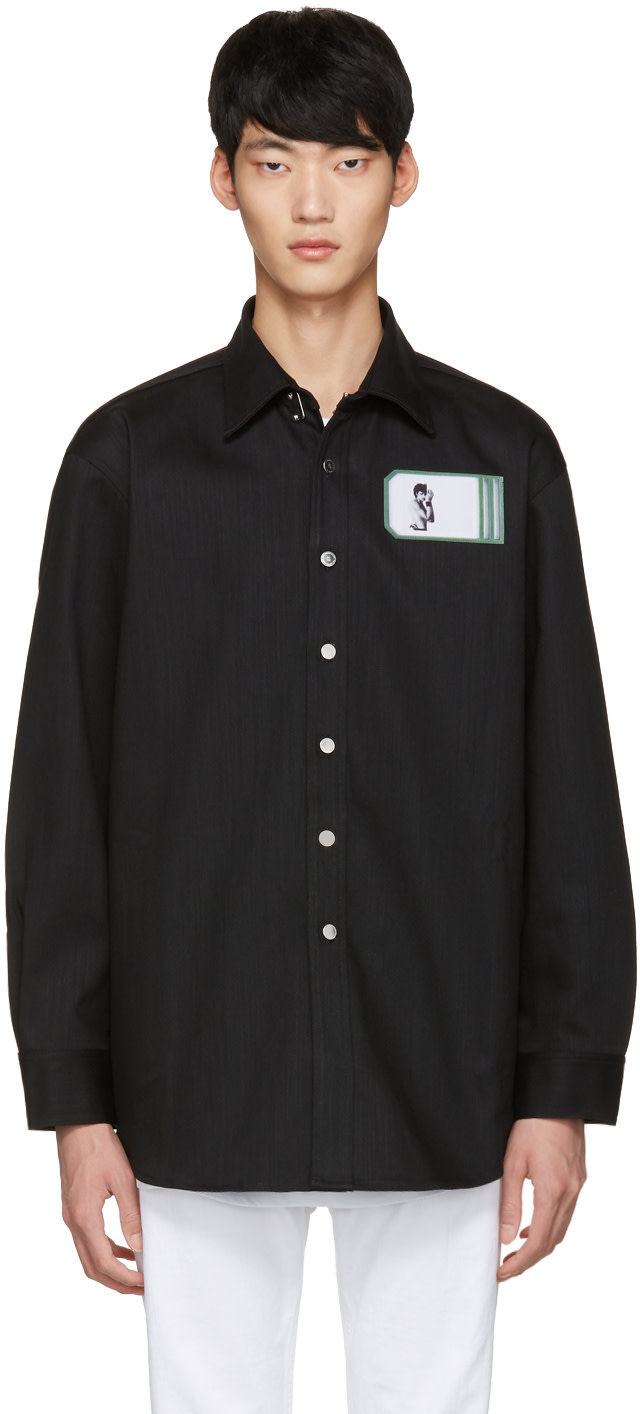 Raf simons black robert mapplethorpe edition self for Raf simons robert mapplethorpe shirt
