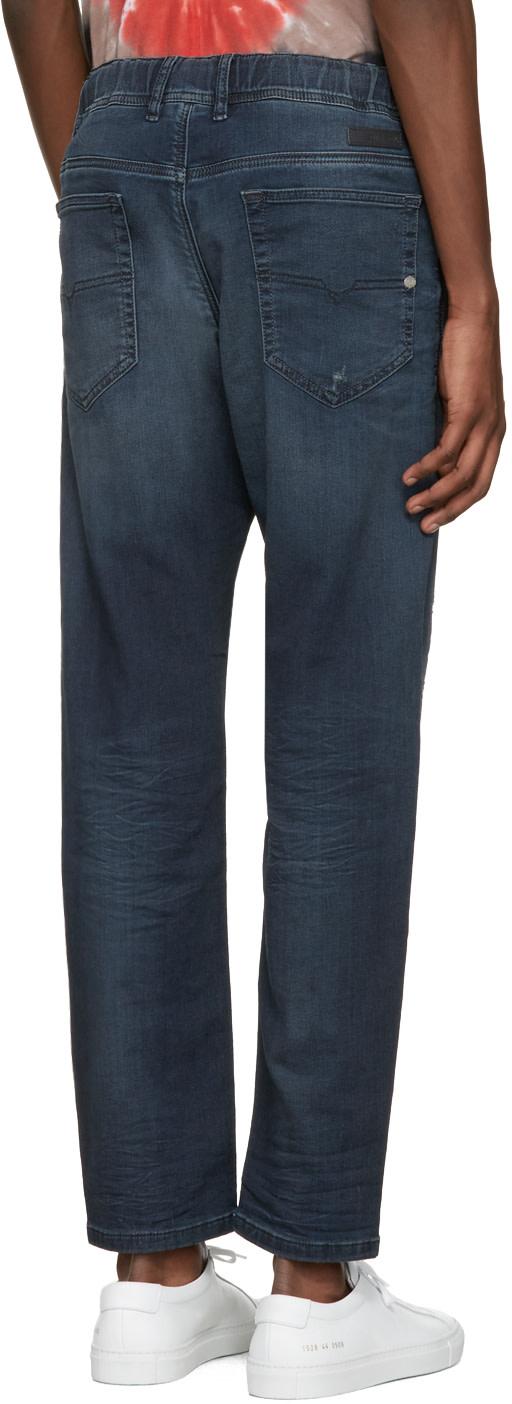 DIESEL Blue Narrot-Ne Jogg Jeans