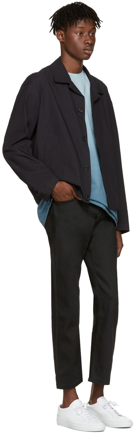 JIL SANDER Black Straight-Leg Jeans