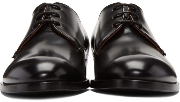 ROBERT CLERGERIE Black Severinm Derbys