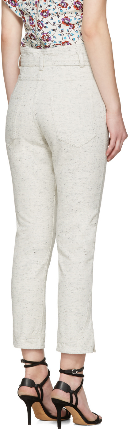 ISABEL MARANT Off-White Evera Jeans