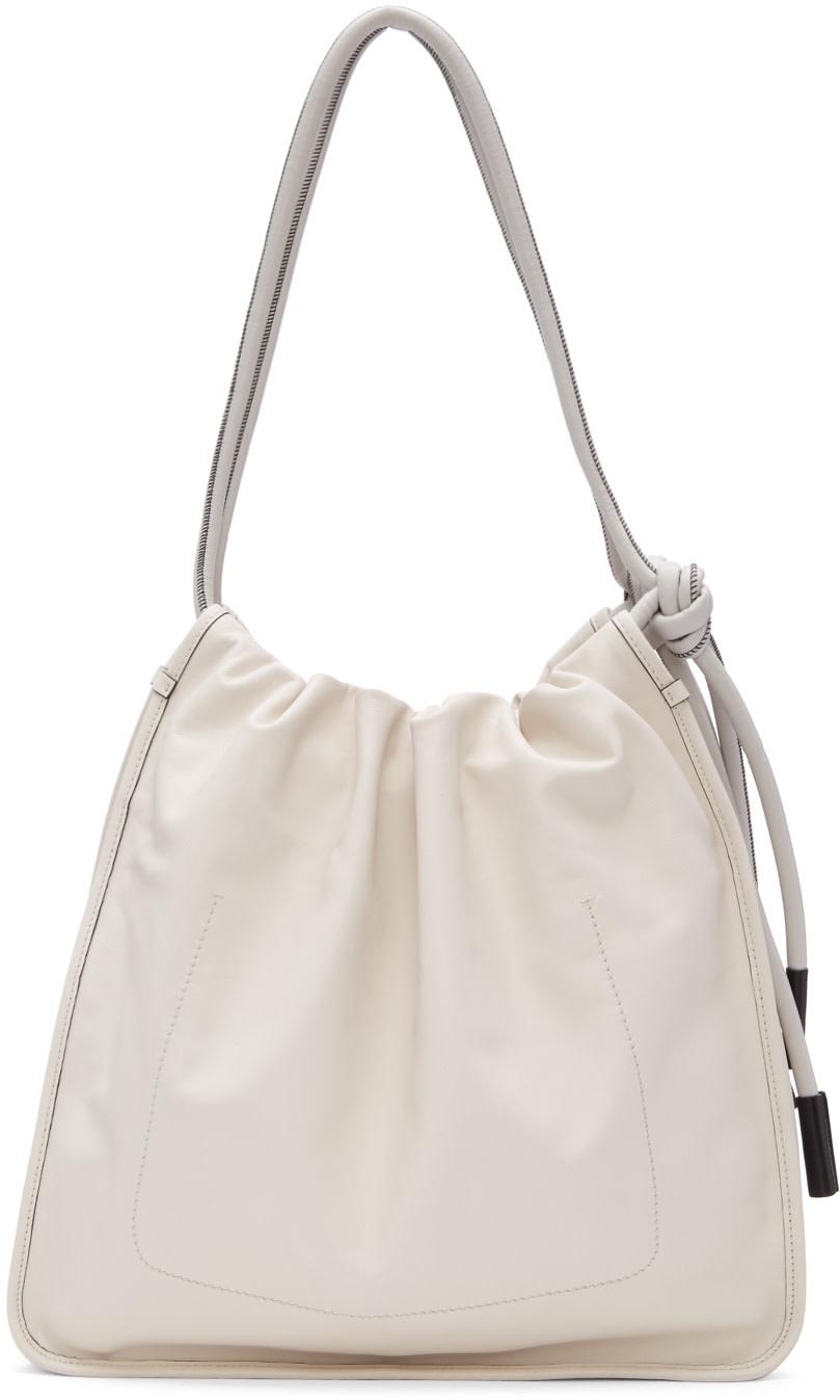 Marni Off-White Nuage Tote Bag