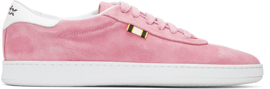 APRIX Aprix Pink Suede Apr-002 Sneakers