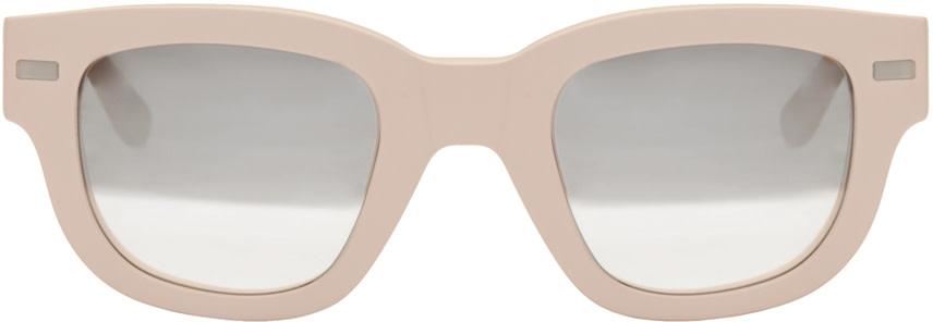 Acne Studios - Pink Frame Metal Sunglasses