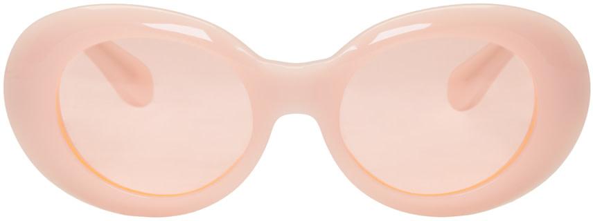 Acne Studios - Pink Mustang Sunglasses