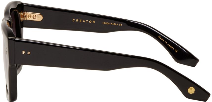 Dita Creator Sunglasses  dita black creator sunglasses ssense