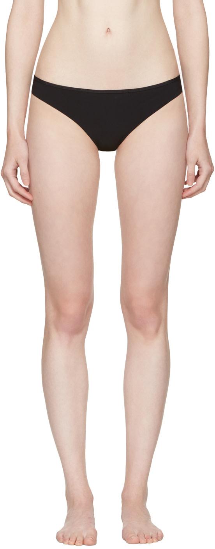 WARD WHILLAS Ward Whillas Black Ginny Bikini Bottom in Black/White