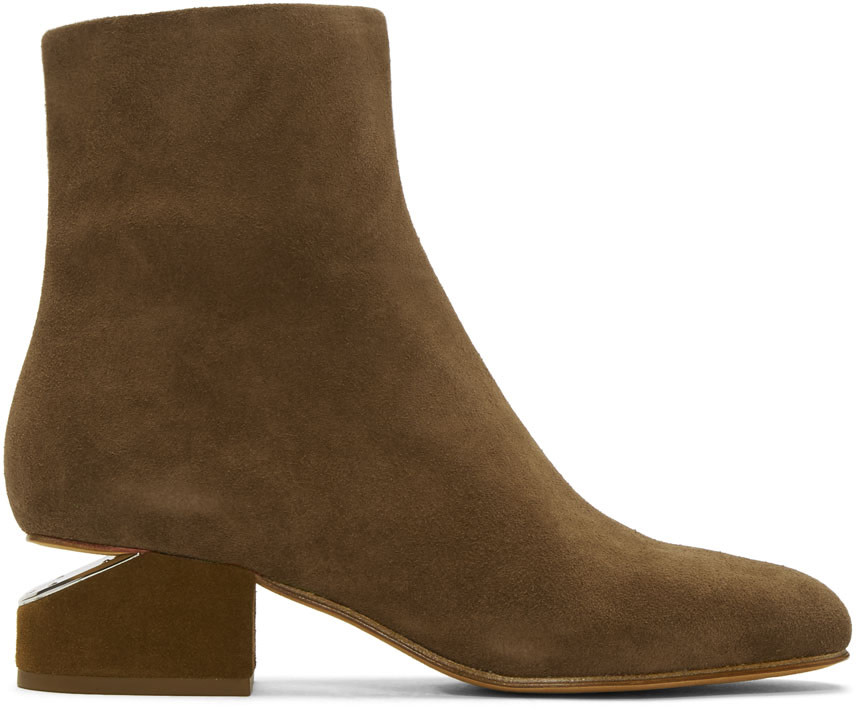 Alexander Wang Suedes Tan Suede Kelly Boots