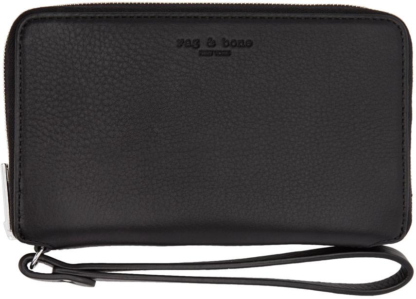 Rag & Bone Wallets Black Phone Wristlet Wallet