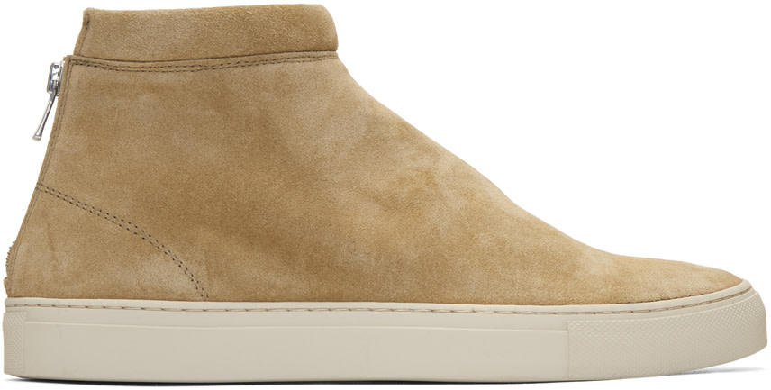 Tan Suede Dweller Mid-Top Sneakers Nonnative MNkEalmqoH