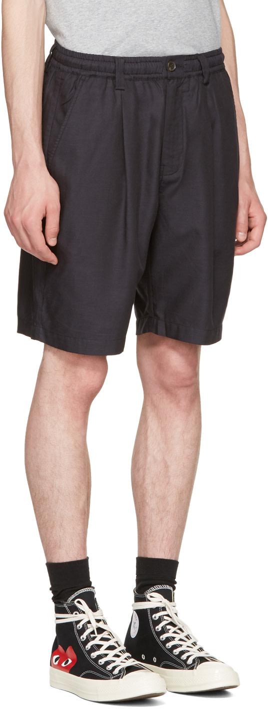SATURDAYS SURF NYC Black Keigo Shorts