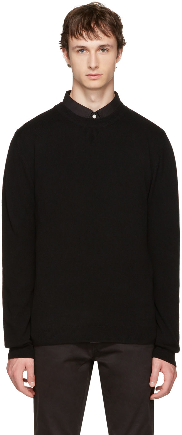 SATURDAYS SURF NYC Black Everyday Classic Sweater