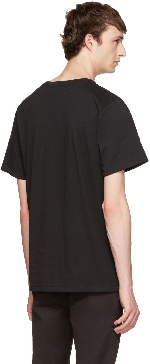 SATURDAYS SURF NYC Saturdays Nyc - Slim-Fit Printed Cotton-Jersey T-Shirt - Black
