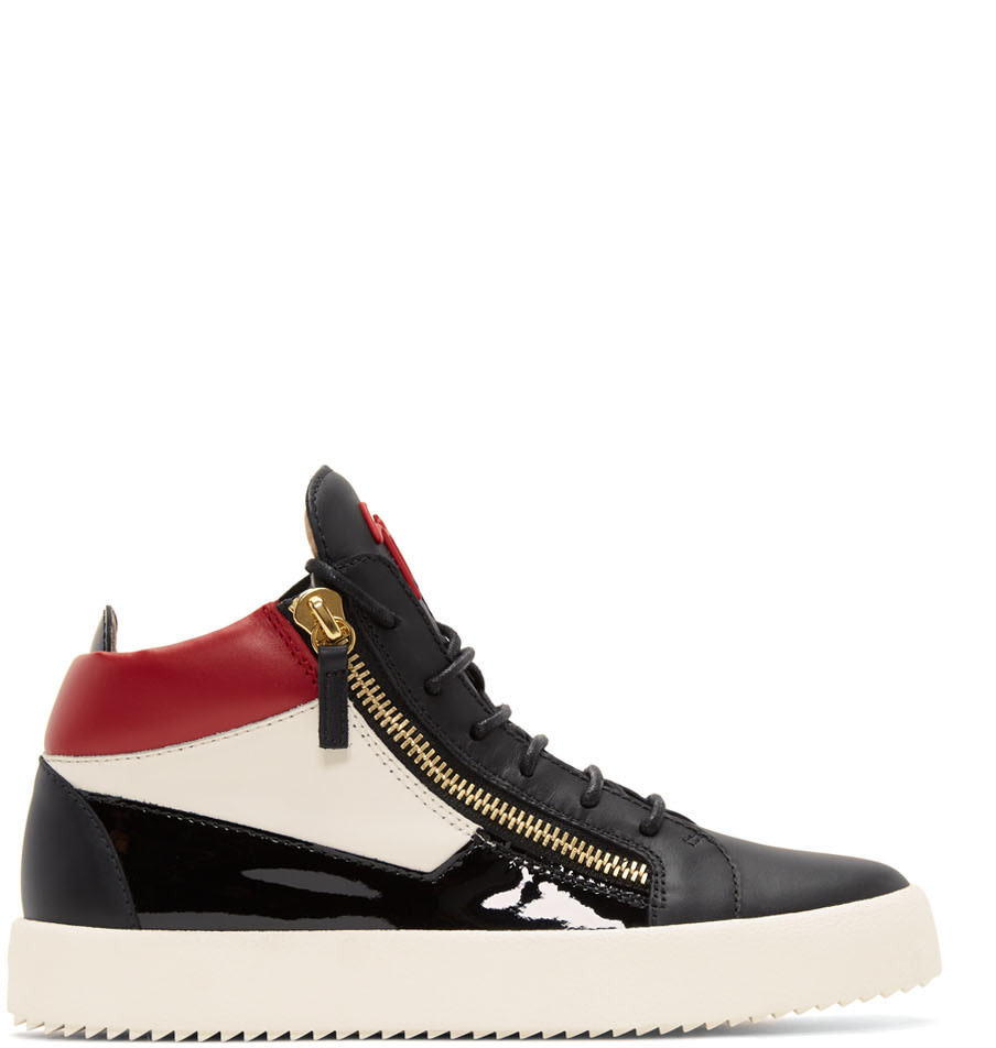 Sale Top Quality Sast Cheap Online Multicolor Leopard May London High-Top Sneakers Giuseppe Zanotti Gyw74uf46