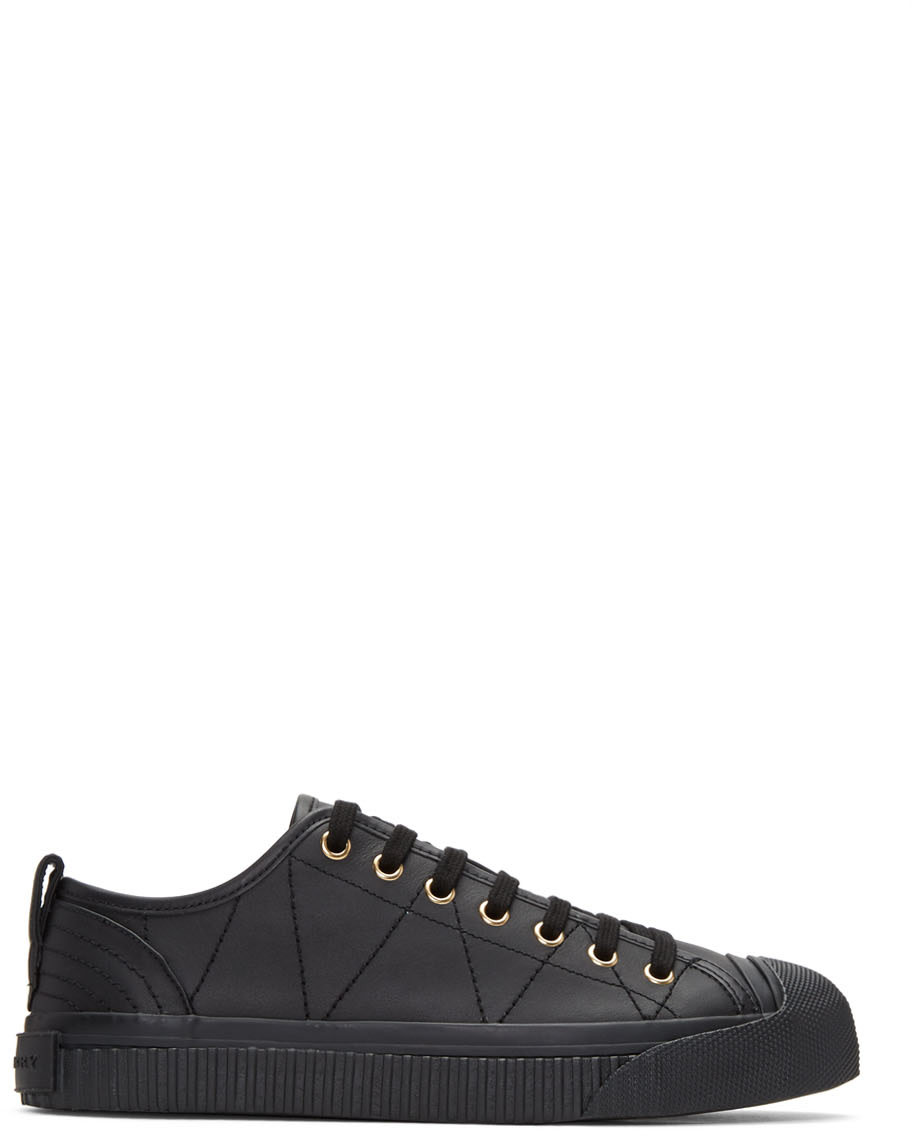 burberry black sneakers
