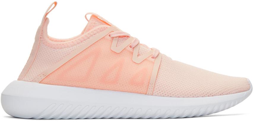 Pink Tubular Viral 2 Sneakers