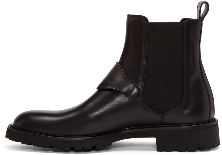 Plaistow Leather Boots - BlackBelstaff xb9f9PvxZ