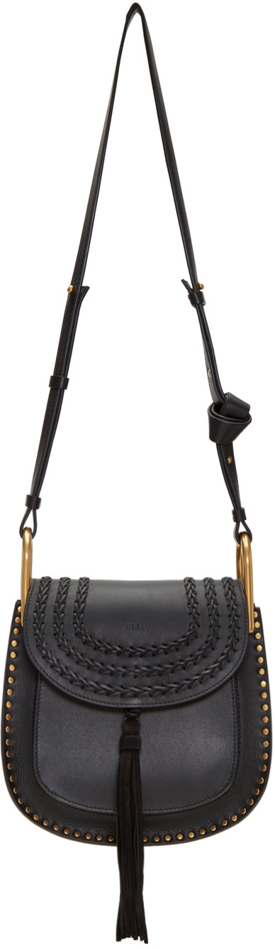 CHLOÉ CHLOE BLACK SMALL HUDSON BAG
