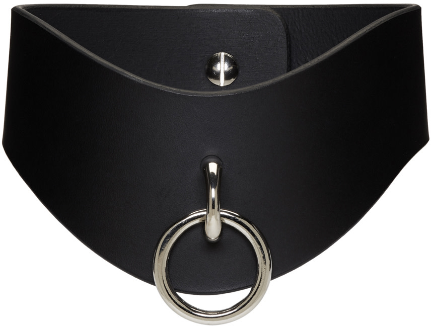 Fleet Ilya Black O Ring Curved Collar