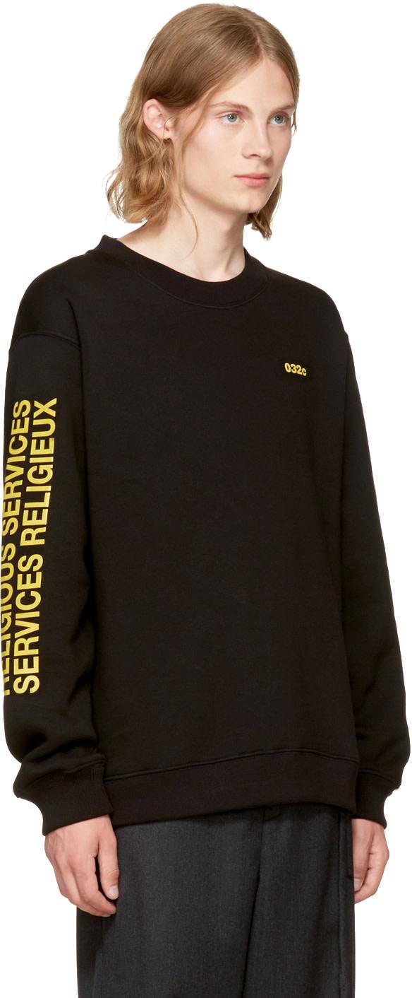 032c SSENSE Exclusive 'Religious Services' Sweatshirt 100% Garanti YD7Zvm