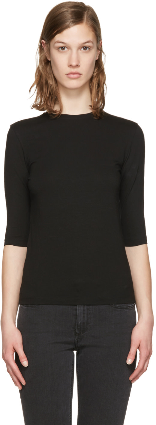 Acne Studios Black Idra T Shirt Ssense