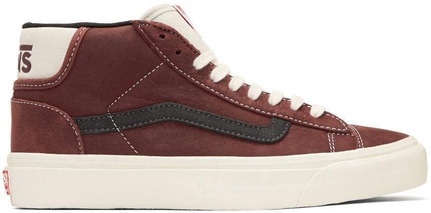 Brown OG Mid Skool Lite LX Sneakers Vans MFi9I7MoIn