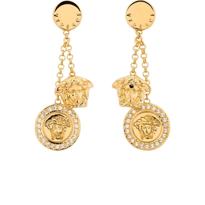Excellent Versace Vintage 39Medusa39 Earrings  Farfetch