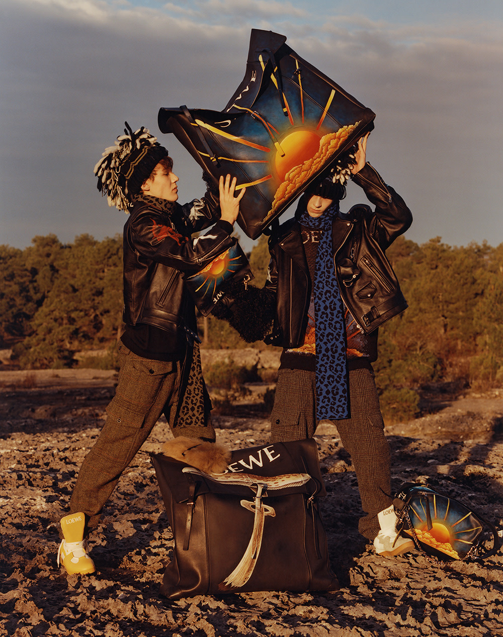 are loewe lookbooks the antidote to fast fashion